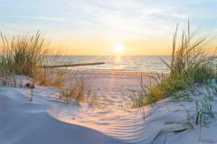Morze Bałtyckie o wschodzie słońca